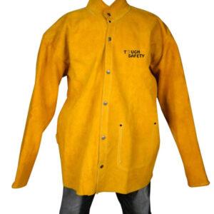 Premium Leather Welding Jacket