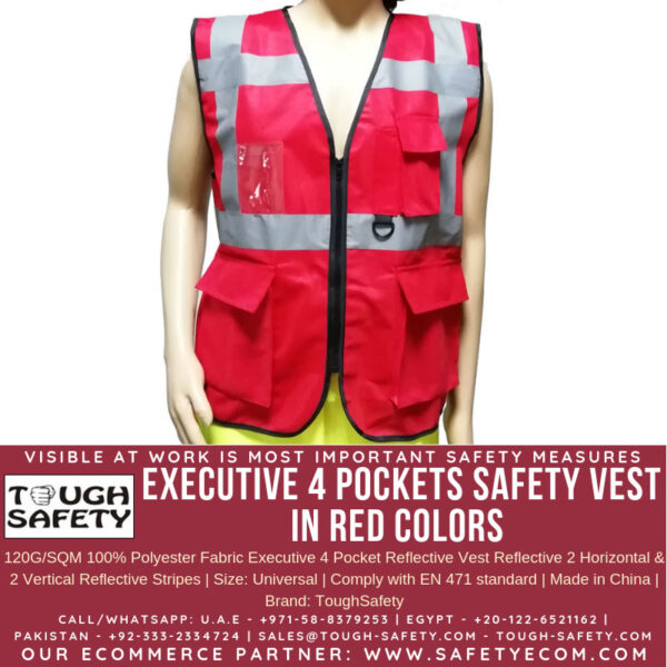 TS EXECUTIVE VEST RED